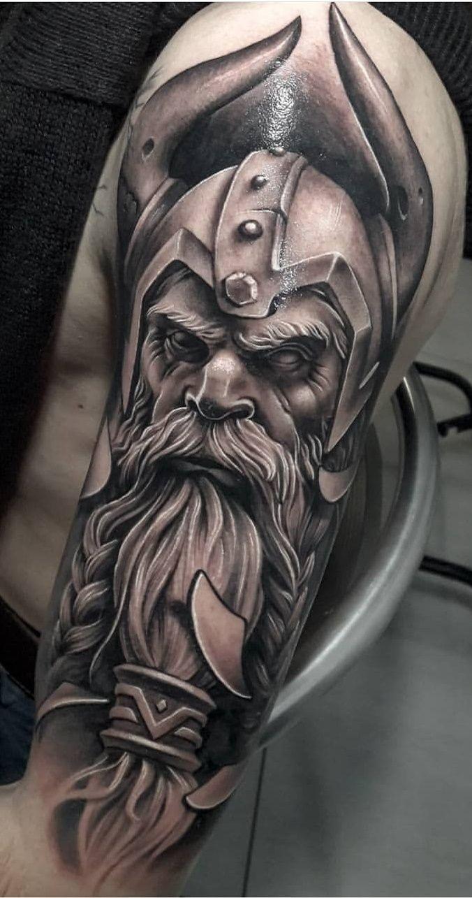 Pin by Brett Smith on Interests Viking tattoos for men