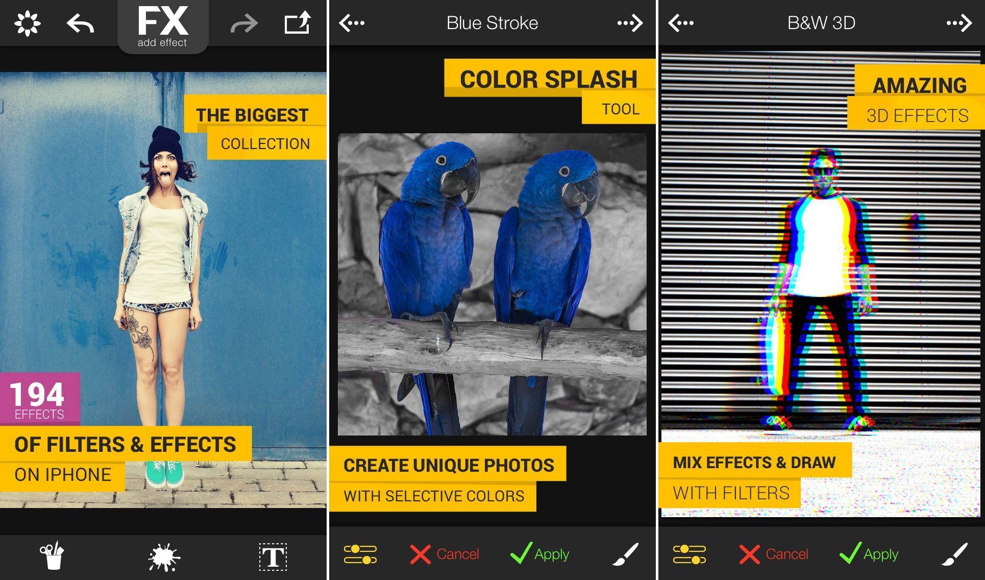 FX Photo Studio o aplicatie de editare foto excelenta