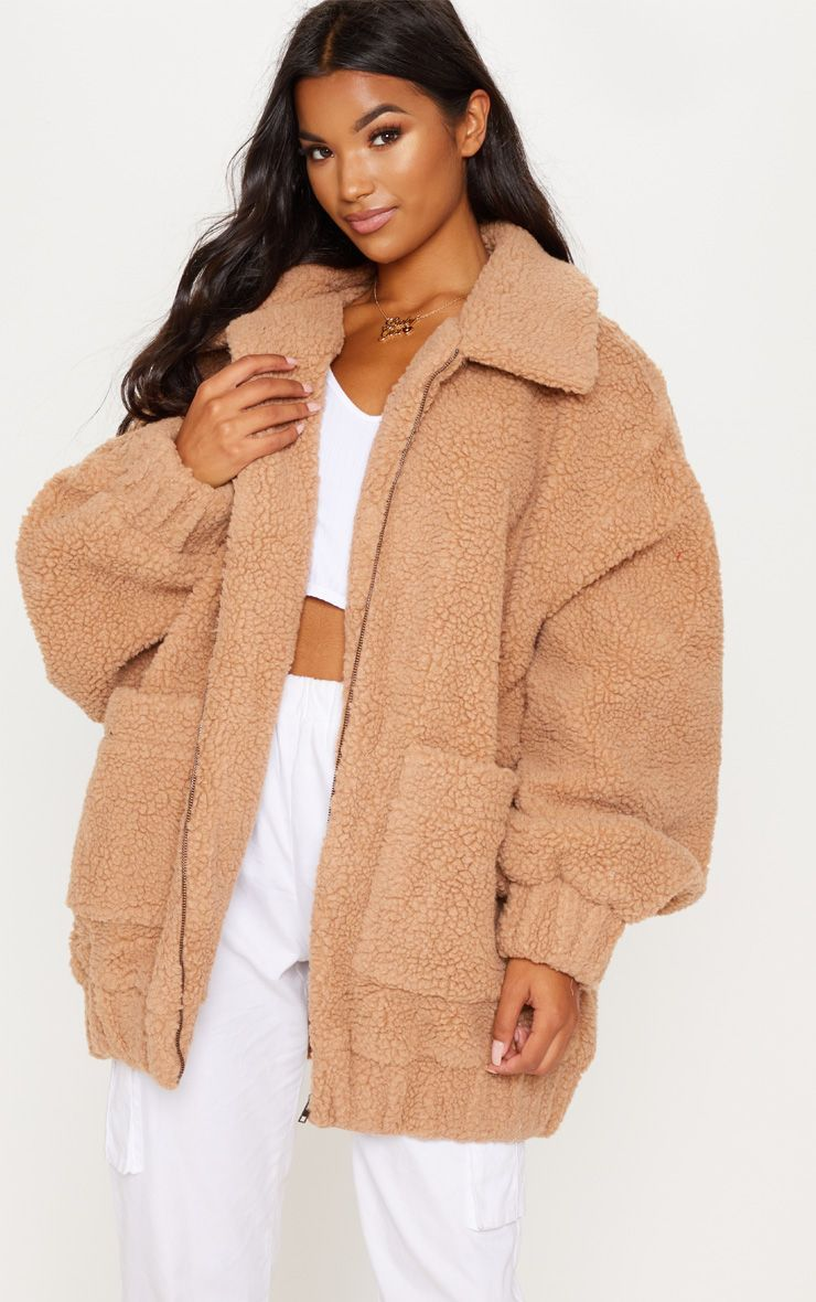 df3d865e8 Camel Borg Pocket Front Coat in 2019 | black friday | Camel coat ...
