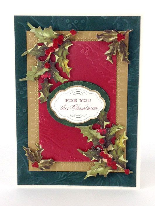 © Anna Griffin, Inc. Christmas Metallic Layers