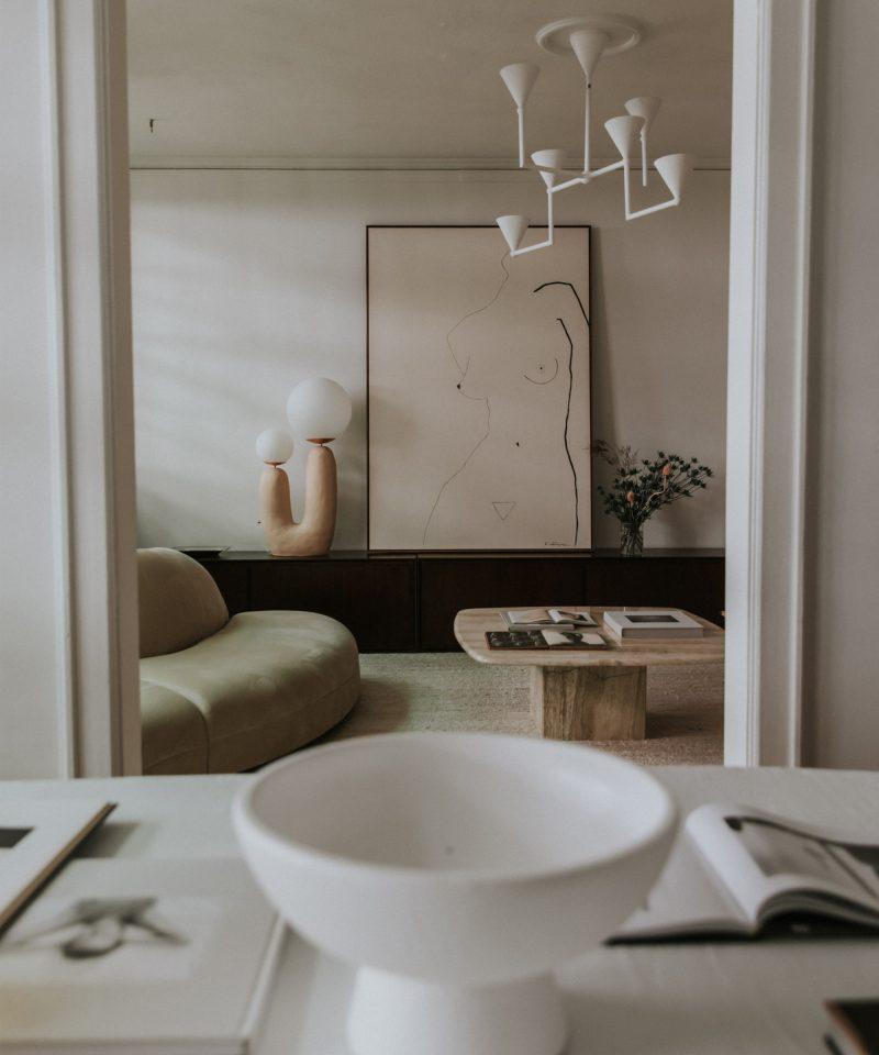 Photo of Atlanta Artist Kristen Giorgi's Impeccable Home is a Livable Work of Art