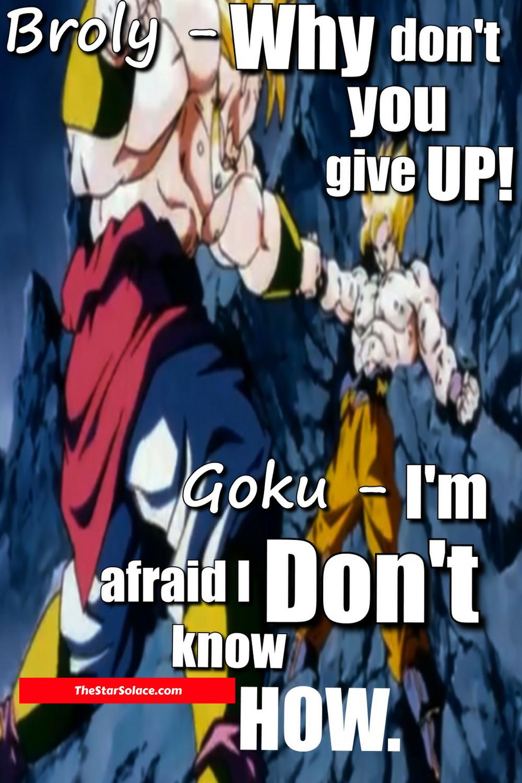 Goku, broly, dragonball, z, super, motivation, inspiration