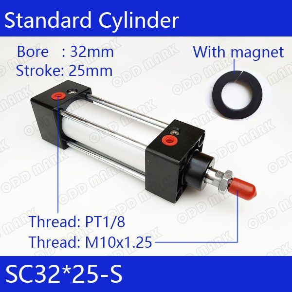 Best Sc32 25 S Free Shipping Standard Air Cylinders Valve 32Mm 400 x 300