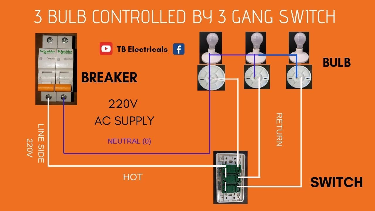 medium resolution of 3 gang switch actual demo l wiring tagalog