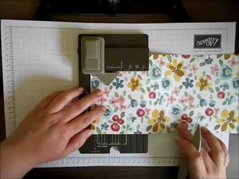 Using The Gift Bag Punch Board – That Bag… |