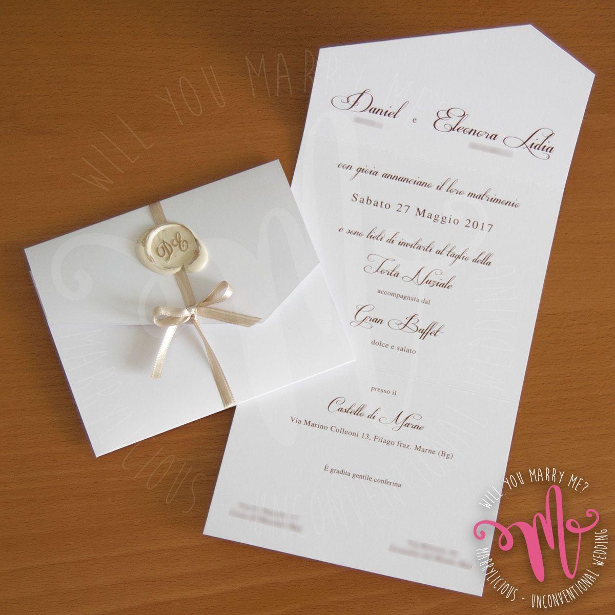 Pin Su Partecipazioni Matrimonio