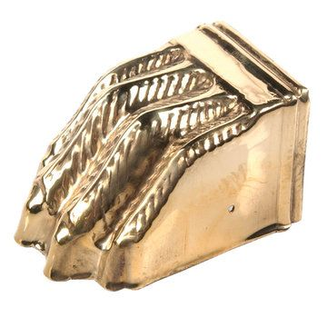 Laiton antique Claw Castor