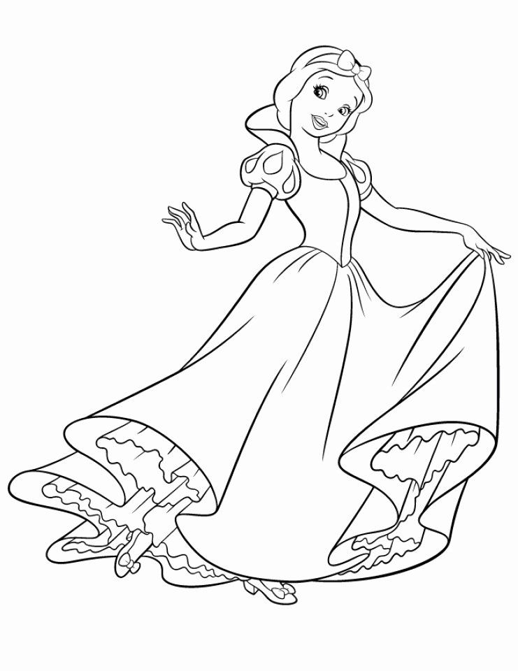 12+ Princess snow white coloring pages info