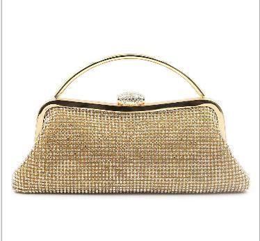 b8e779a4436f Evening Clutch purse, Gold Party wear clutch, Handmade Clutch ...