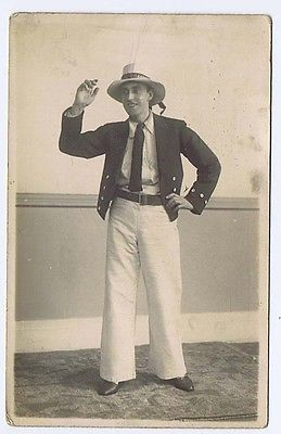 #Edwardian #gentleman in theatrical costume rp postcard #c1910,  View more on the LINK: 	http://www.zeppy.io/product/gb/2/351372288596/