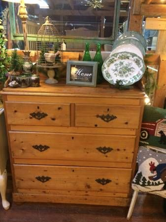 Vintage pine chest of drawers - The Bee's Knees, Castle ...