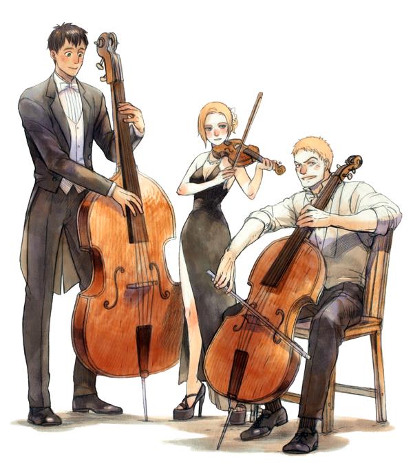 Trio [2] by prema-ja.deviantart.com on @deviantART
