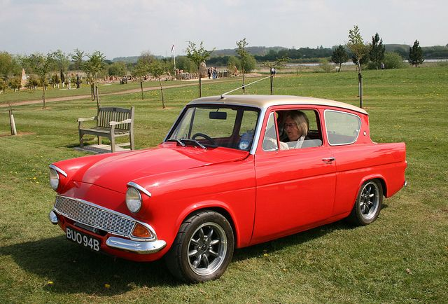 Ford Anglia With Supercharged Volvo Motor Ford Anglia Ford