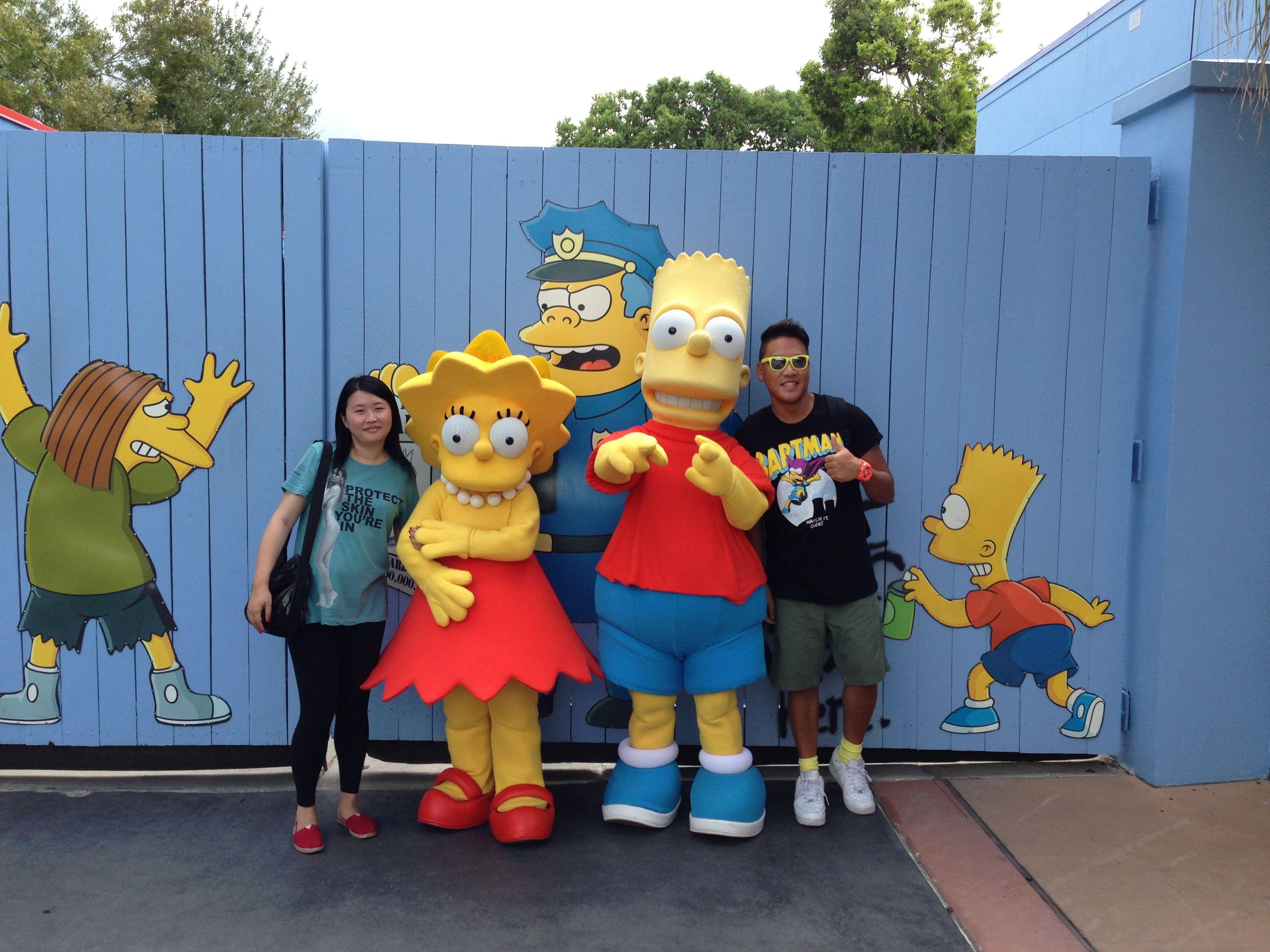 Simpsons Kurstyland Universal Studios Orlando
