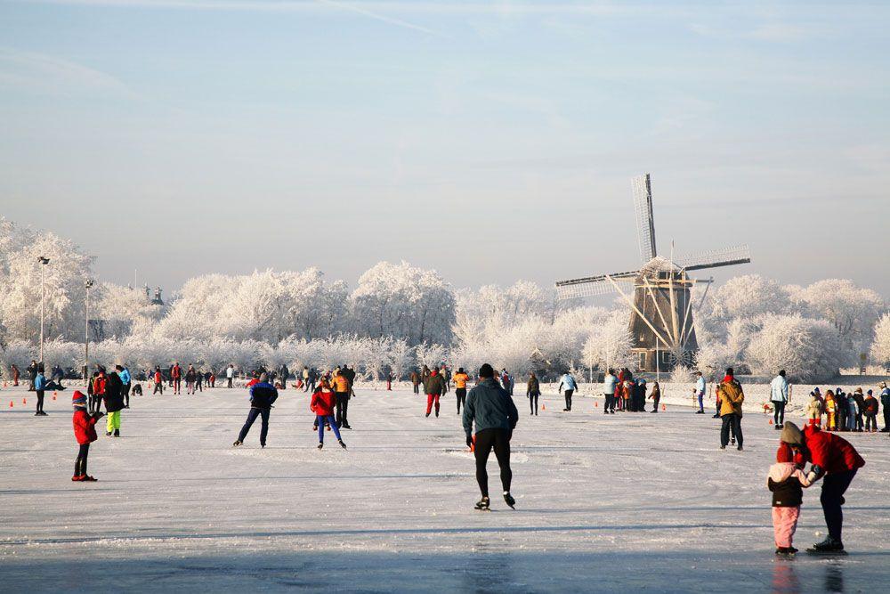 winter nederland schaatsen - Google zoeken