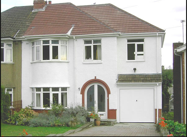 Extension Over Garage Semi 1930s House Exterior Garage Extension 1930s Semi Detached House