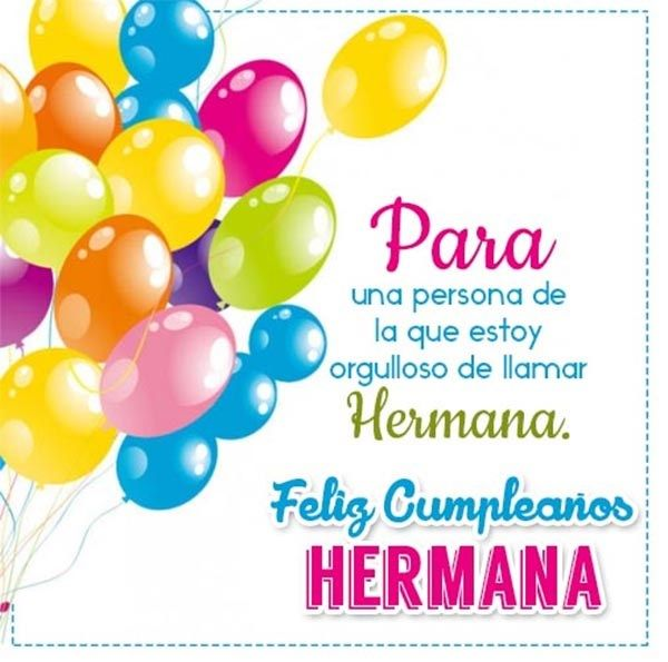 Palabras De Cumpleanos A Mi Hermana 1 Happy Birthday To Niece Sister Birthday Quotes Happy Birthday Pictures
