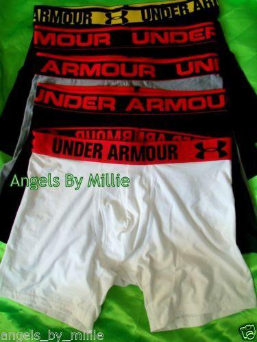 99 CENT AUCTIONS END SUNDAY EBAY UNDERARMOUR VSPINK WORLDWIDE SHIPPING Under Armour Men S Small 6 Original Boxer Jock Briefs Underwear Lot Set 5 New