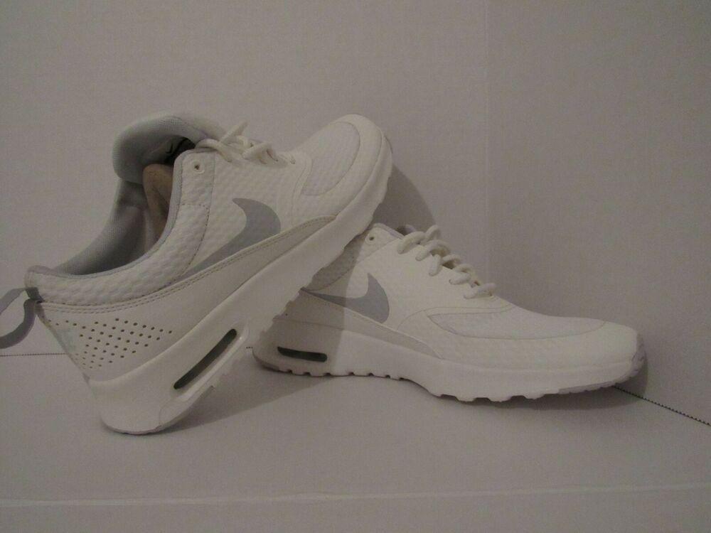 new styles a1477 4a0b0 Nike Air Max Thea Txt Women s Training Shoes Summit White Pure Platinum -  Nike Airs (
