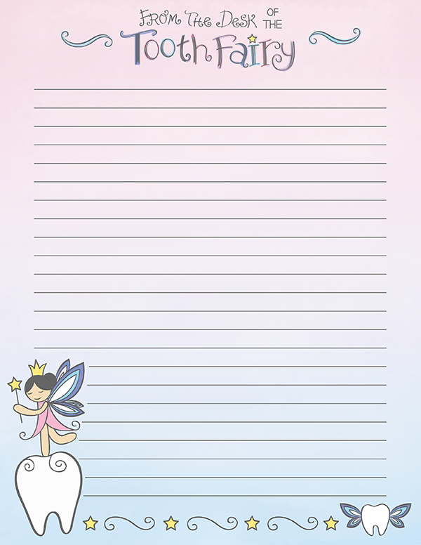 photograph regarding Tooth Fairy Stationary referred to as Pin as a result of Muse Printables upon Printable Stationery Enamel fairy