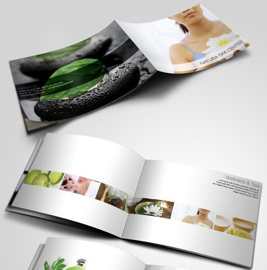 Examples Of Spa Brochure Design  Spa Menu    Brochures