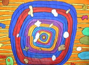 Spiralen Nach Hundertwasser Grimm Hundertwasser Spiralen