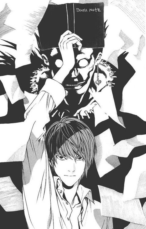 Light Yagami And Ryuk Anime Death Note Death Note Light