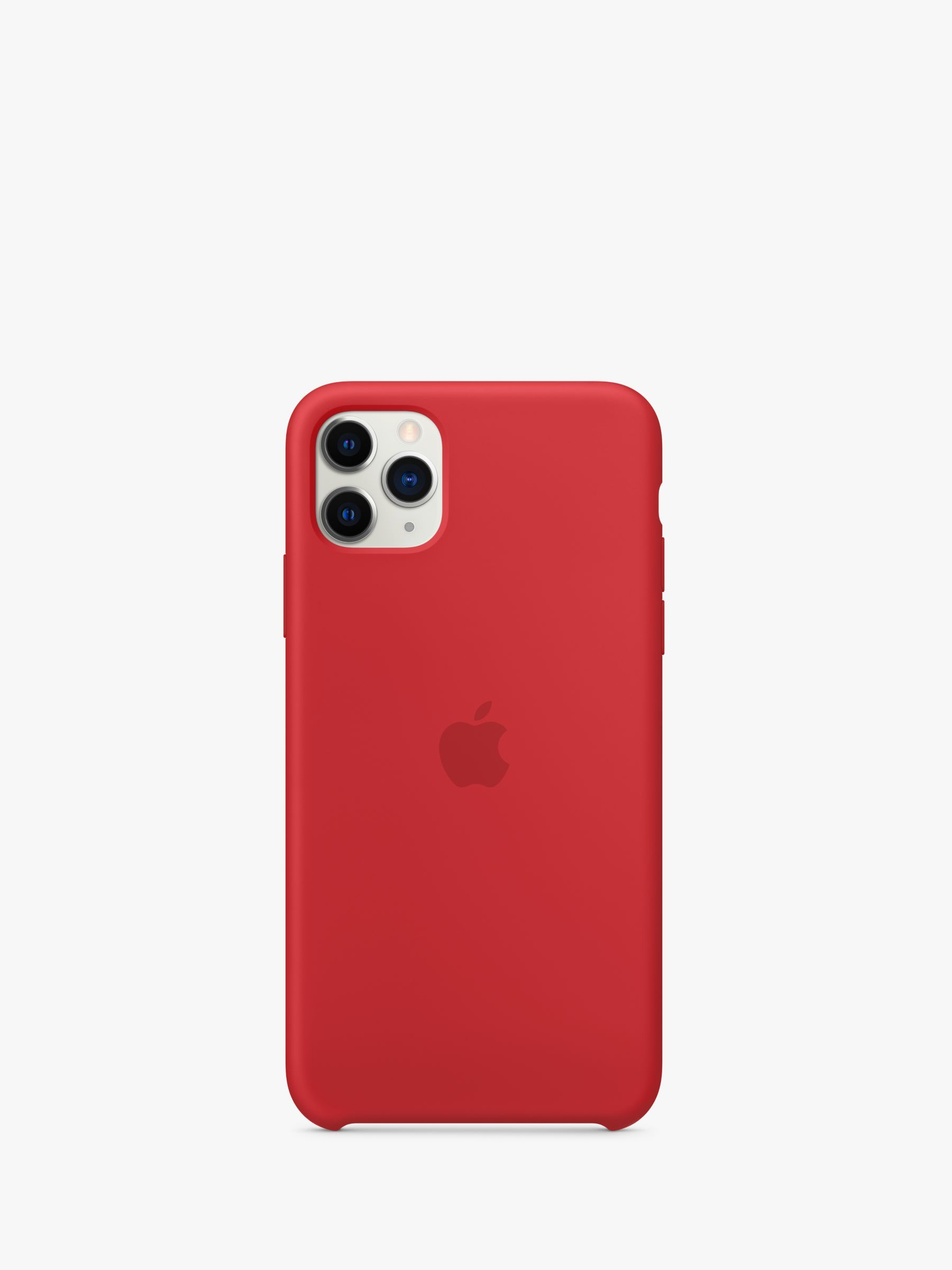 Apple silicone case for iphone 11 pro max productred in