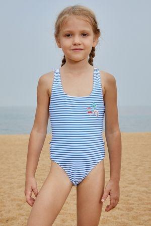 7a8ee07e846fd Blue Nautical Stripes Toddler Girls Bikini Swimwear в 2019 г ...