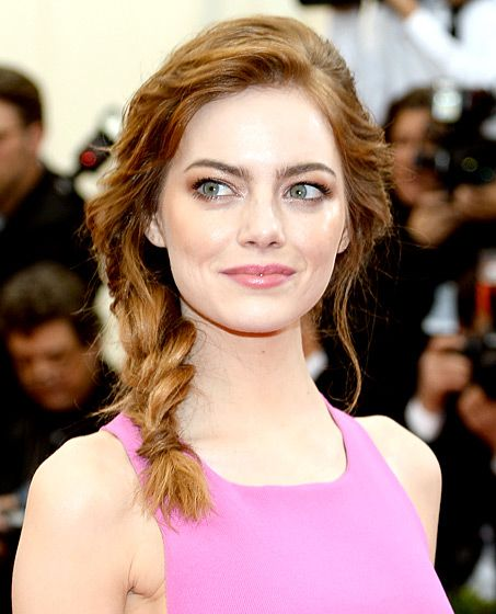 Celebs Braided Hairstyles On The Red Carpet Fish Tail Braid Braids For Medium Length Hair Medium Length Hair Styles
