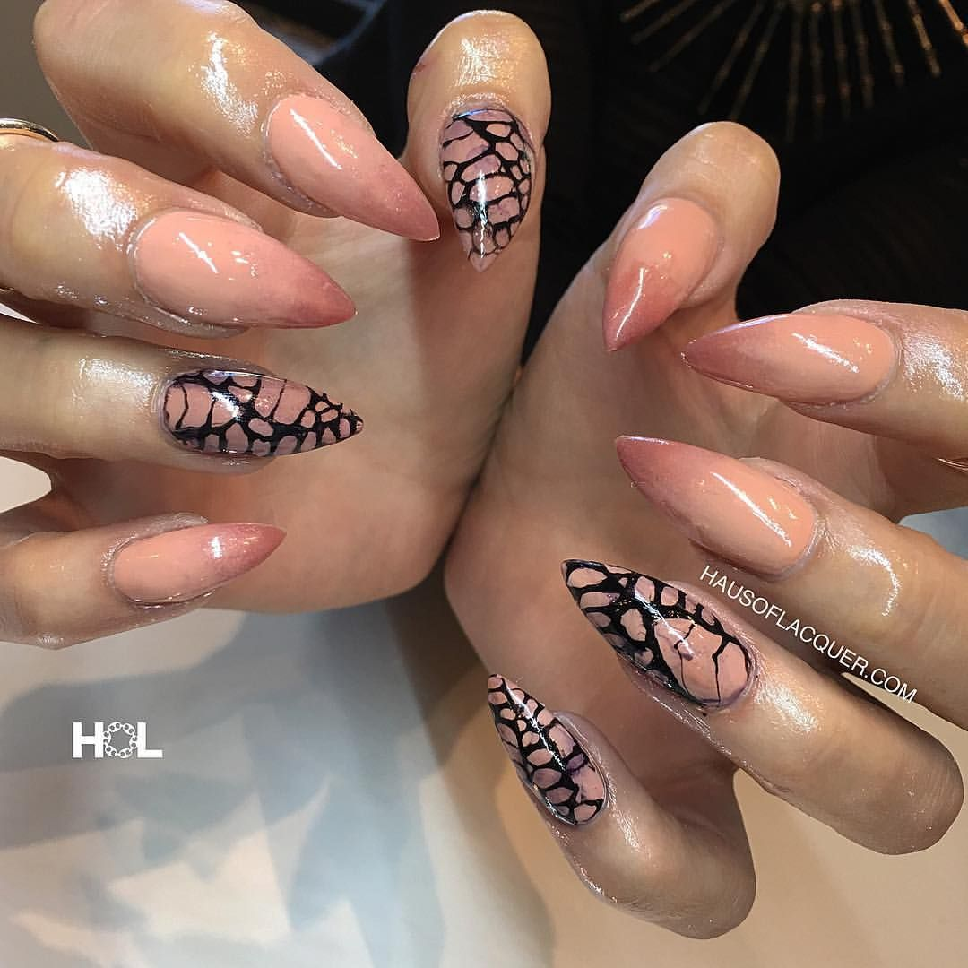 HAUS OF LACQUER » Nails for @phoenixlauren done at @crownthequeens....