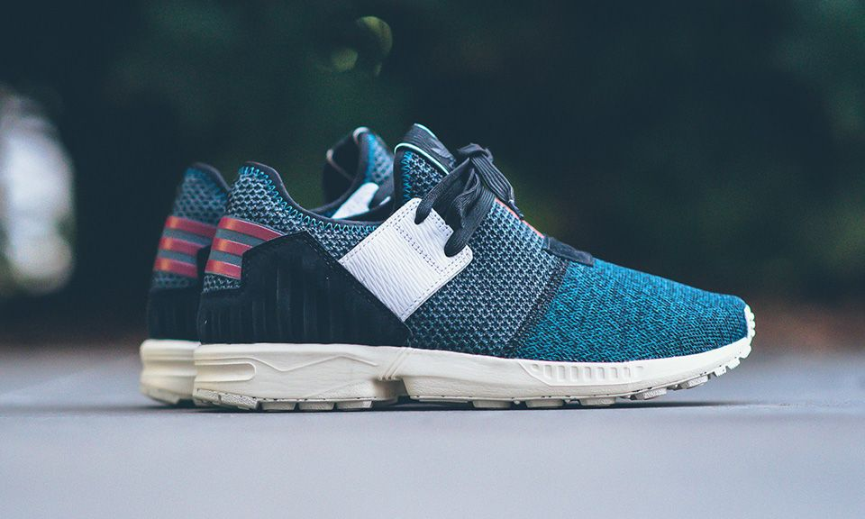 What happens when you add Yeezy and Y-3 influences to the adidas ZX Flux? You get the ZX Flux Plus, that's what.