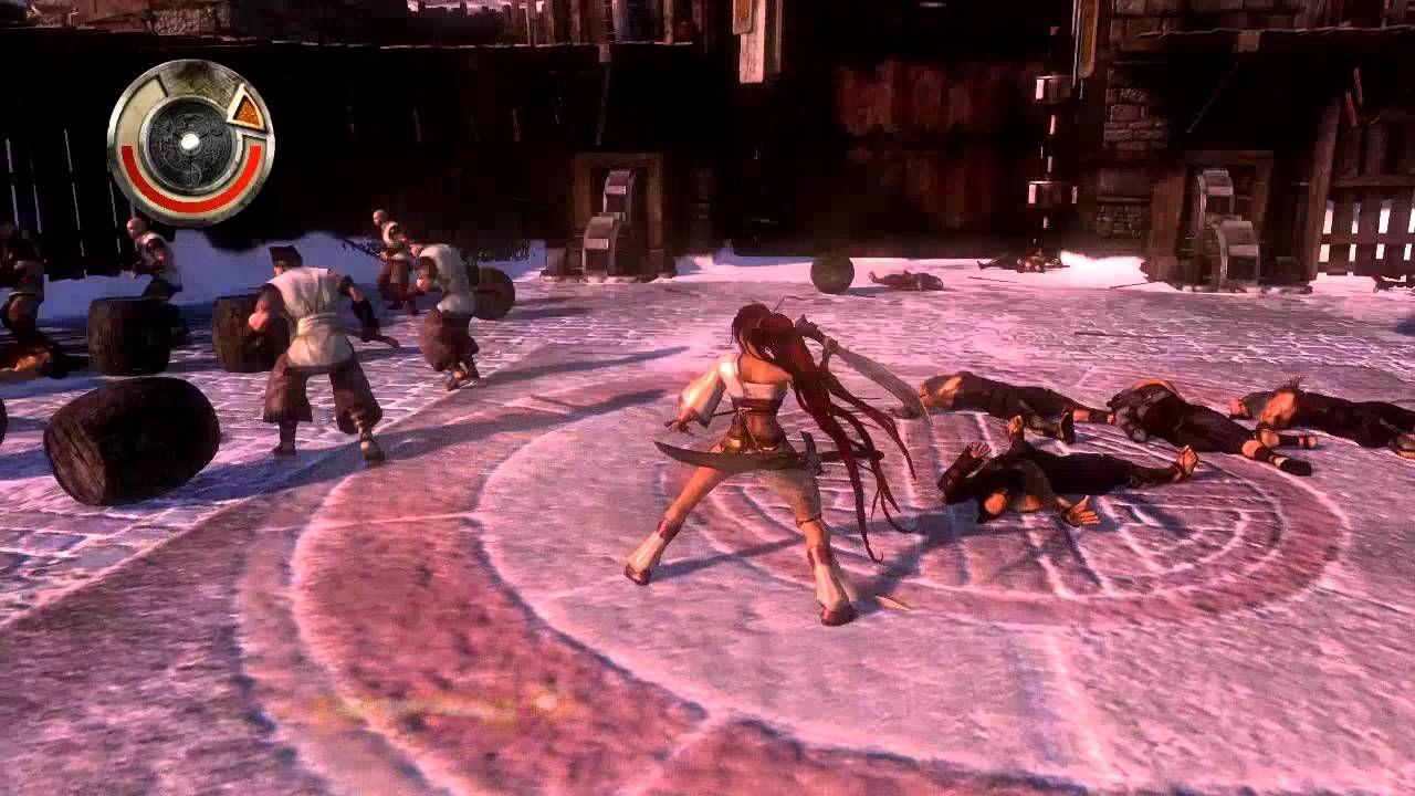 Heavenly Sword Ps3 Gameplay 1 Con Imagenes