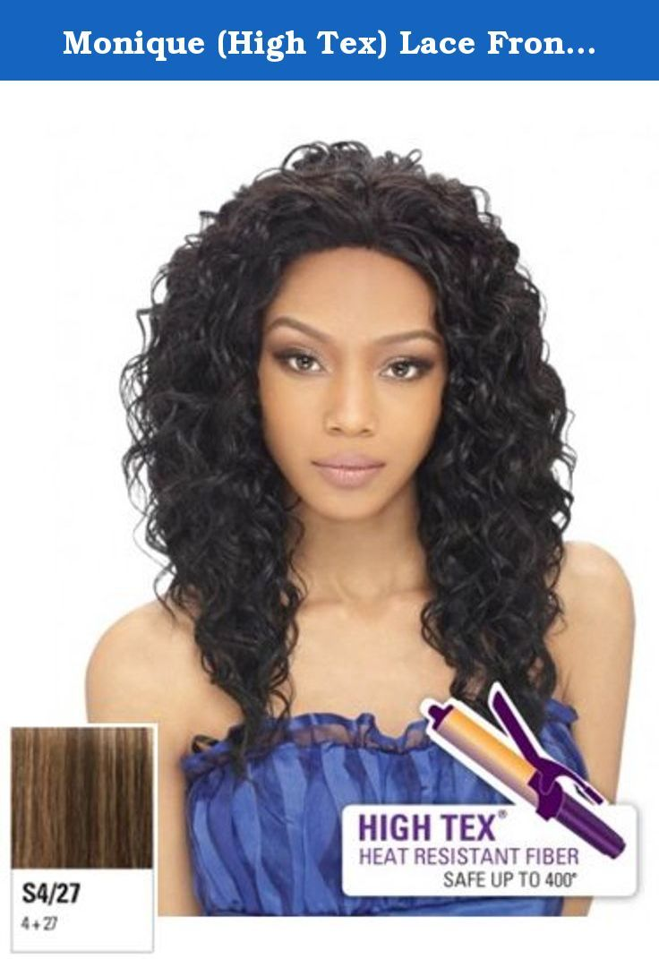 Monique High Tex Lace Front Wig Performance Heat Style Synthetic Hair Wig S4 27 Medium Dark Synthetic Lace Front Wigs Lace Front Wigs Hair Extensions Best