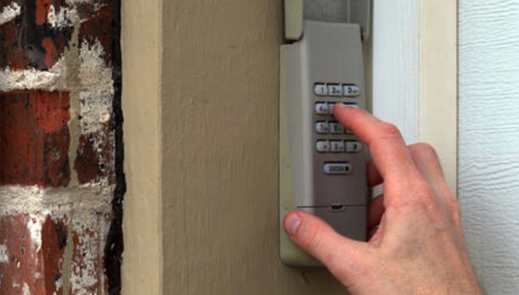 How To Reset Garage Door Keypad Without Enter Button With Images Garage Door Keypad Genie Garage Door Garage Doors