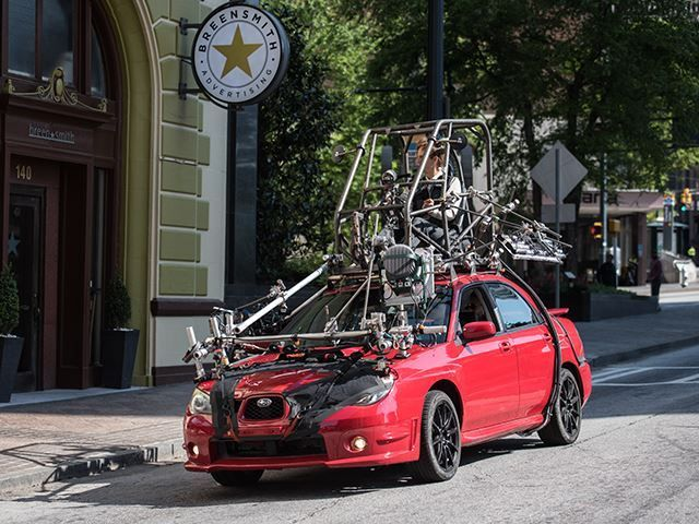 EXCLUSIVE: Why Baby Driver Used A Subaru As The Main Stunt ...