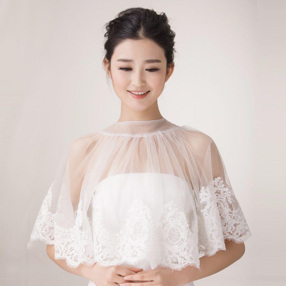 Dream bridal lace flower cape fashion ideas pinterest bridal