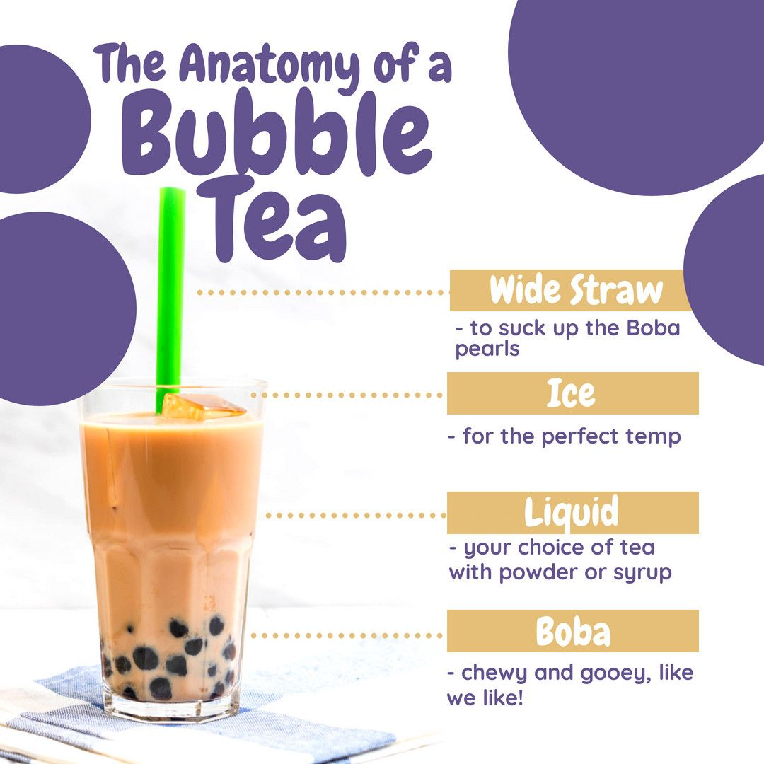 We enjoy the occasional boba tea. What about you? in 2020