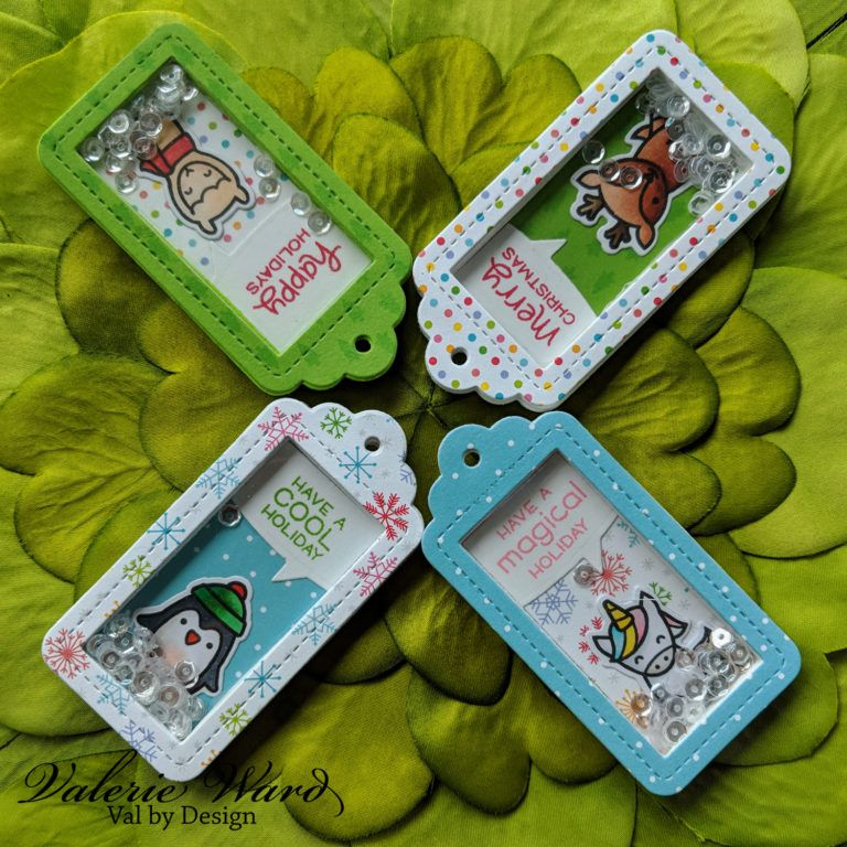Lawn Fawn Say What? Gift Tags & Christmas Critters
