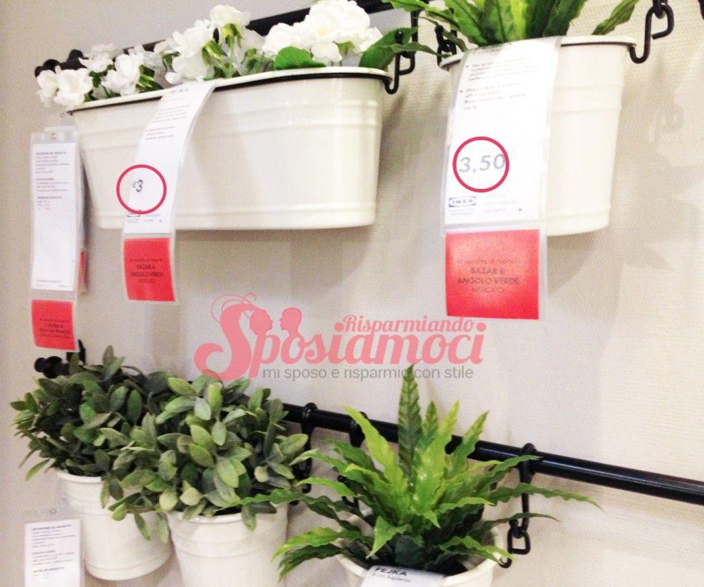 10 prodotti ikea pi usati per decorare un matrimonio for Vasi di vetro ikea