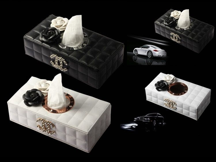 chanel tissue box home accessories pinterest tissue boxes box and coco chanel. Black Bedroom Furniture Sets. Home Design Ideas