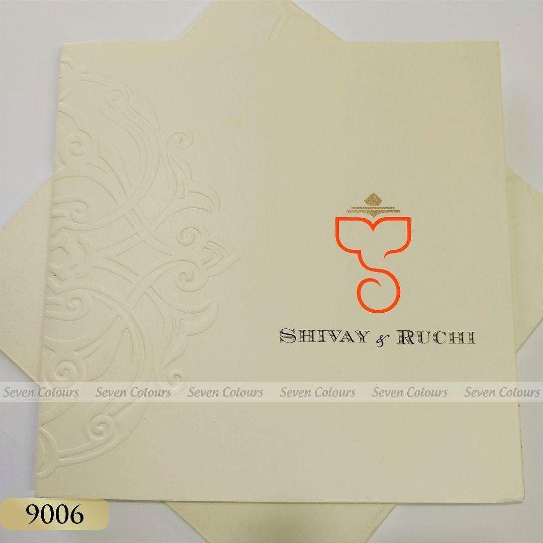 Scentedcard Creaminvitation Embossing Weddingcards