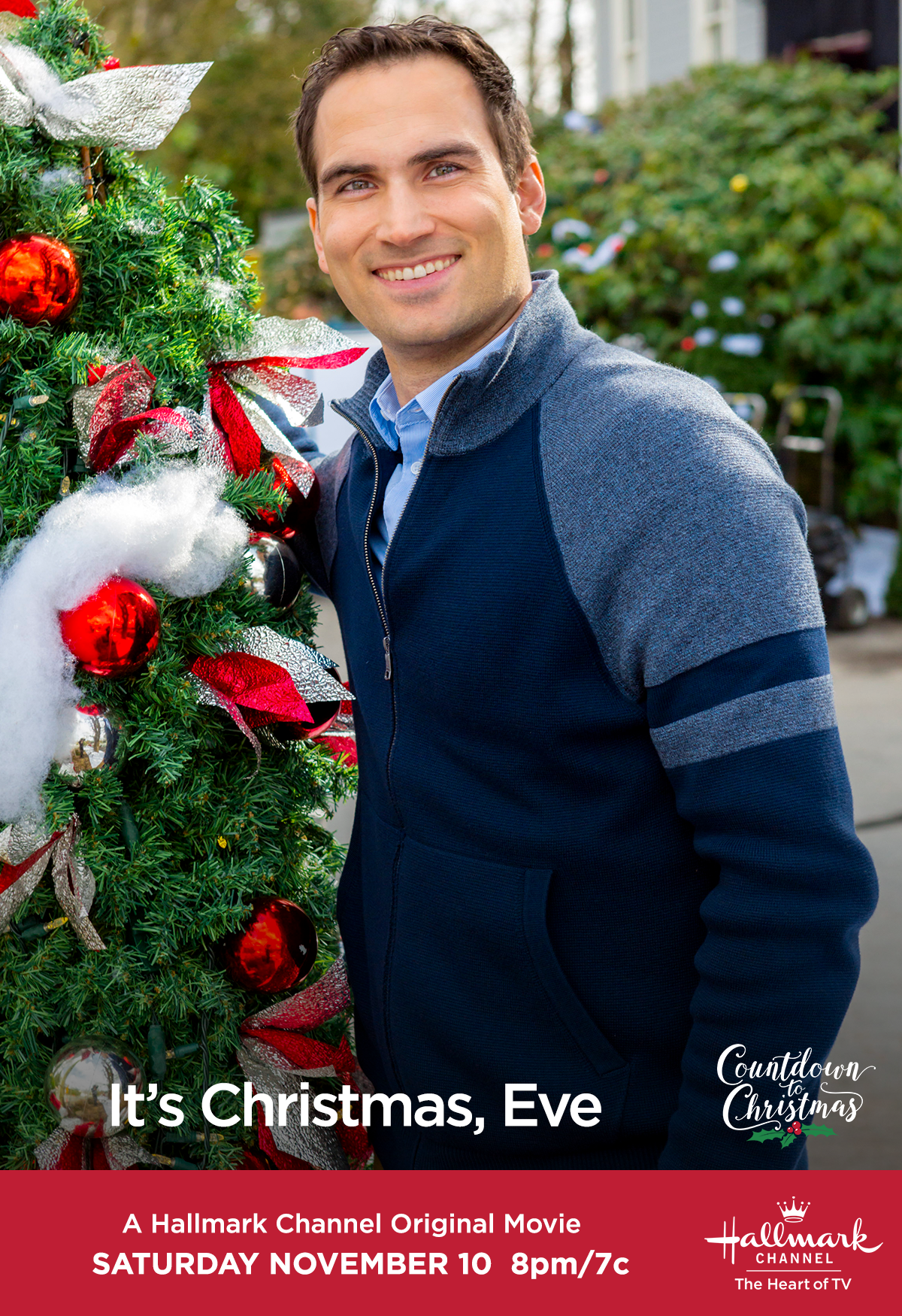 """Watch """"It\'s Christmas, Eve"""" on November 10 at 8/7c, and stay with us ..."""