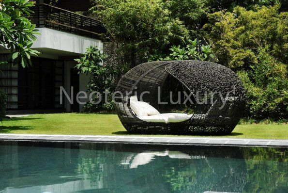 Neoteric Luxury Nl 034423 Sanctuary Twin Daybed Outdoor Bed Outdoor Furniture Outdoor