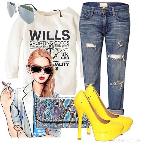 1000+ images about Yelow shoes outfit on Pinterest