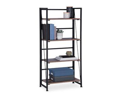 low priced e821c 2b96f SOHL Furniture 4-Tier Folding Bookshelf   Decor in 2019 ...