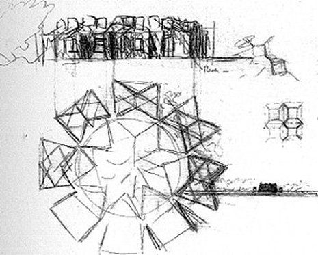 A Parti Diagram Is The Basic Scheme Or Concept For An Architectural