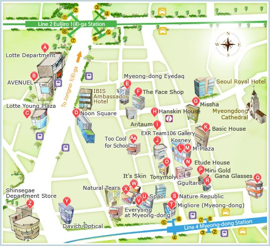 nice Seoul Map Travelquaz Pinterest Seoul South korea seoul