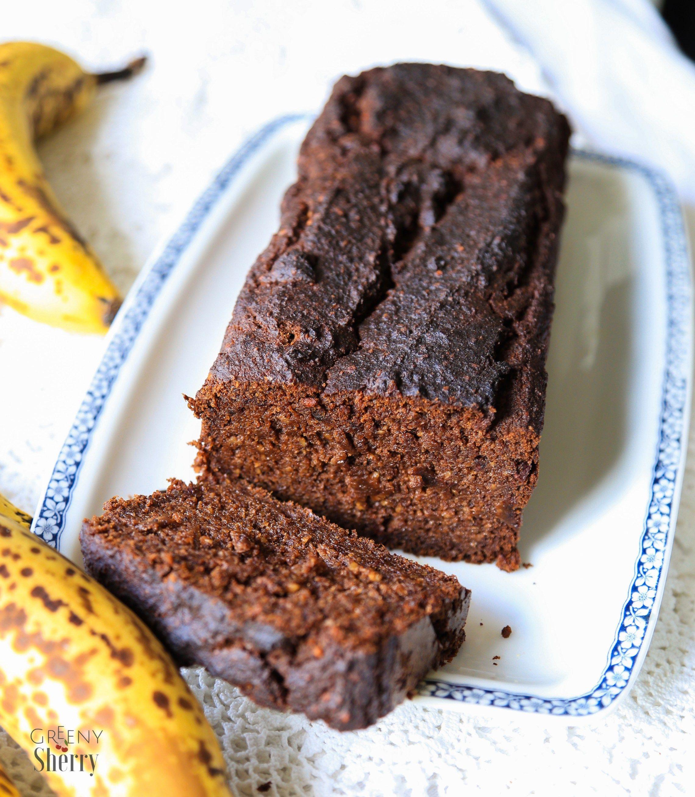 Saftiger Schokokuchen Aka Bananenbrot Vegan Glutenfrei Rezept Bananenbrot Glutenfrei Bananen Brot Und Bananenbrot