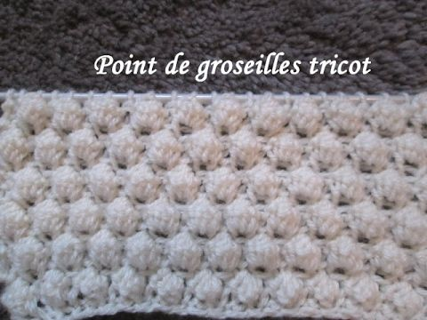 Tuto tricot le on n 11 le point granit youtube - Point tricot facile joli ...